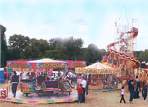 P&M Amusements at a family festival